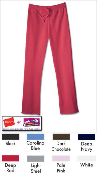 Hanes EcoSmart Cotton Rich Women's Drawstring Sweatpants ...