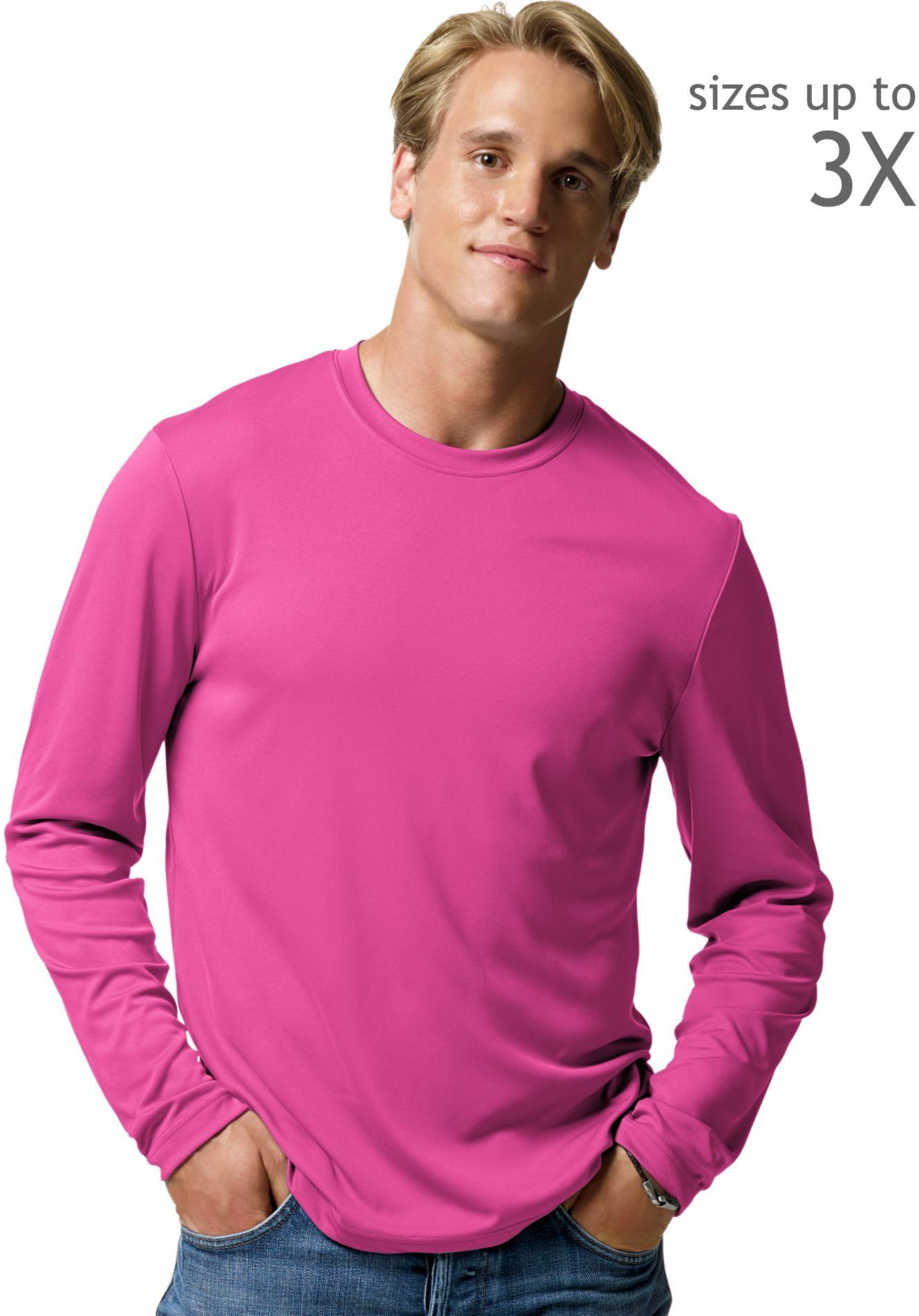 hanes cool dri performance men 39 s long sleeve t shirt