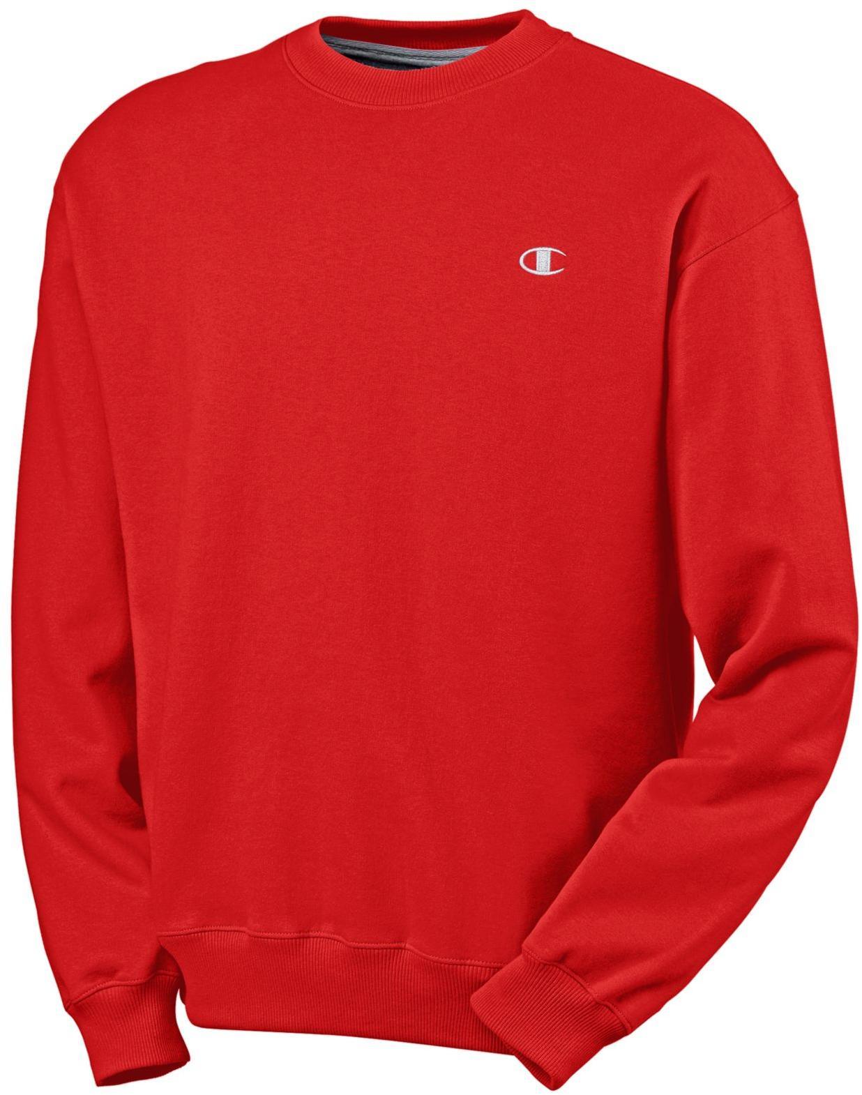 CHAMPION Eco Fleece Crewneck Men's Sweatshirt - S2465 | eBay