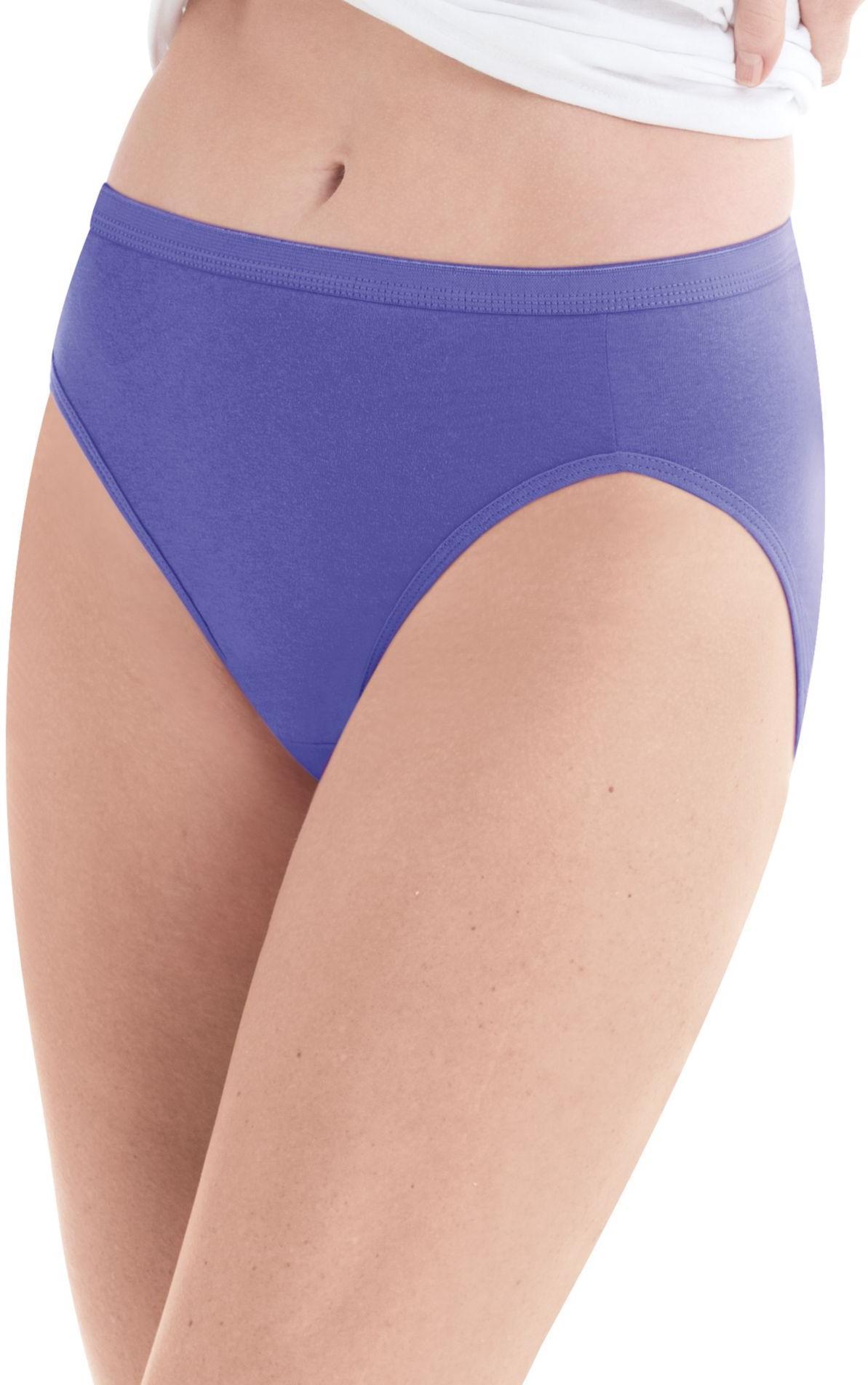 hanes women high microfiber panties