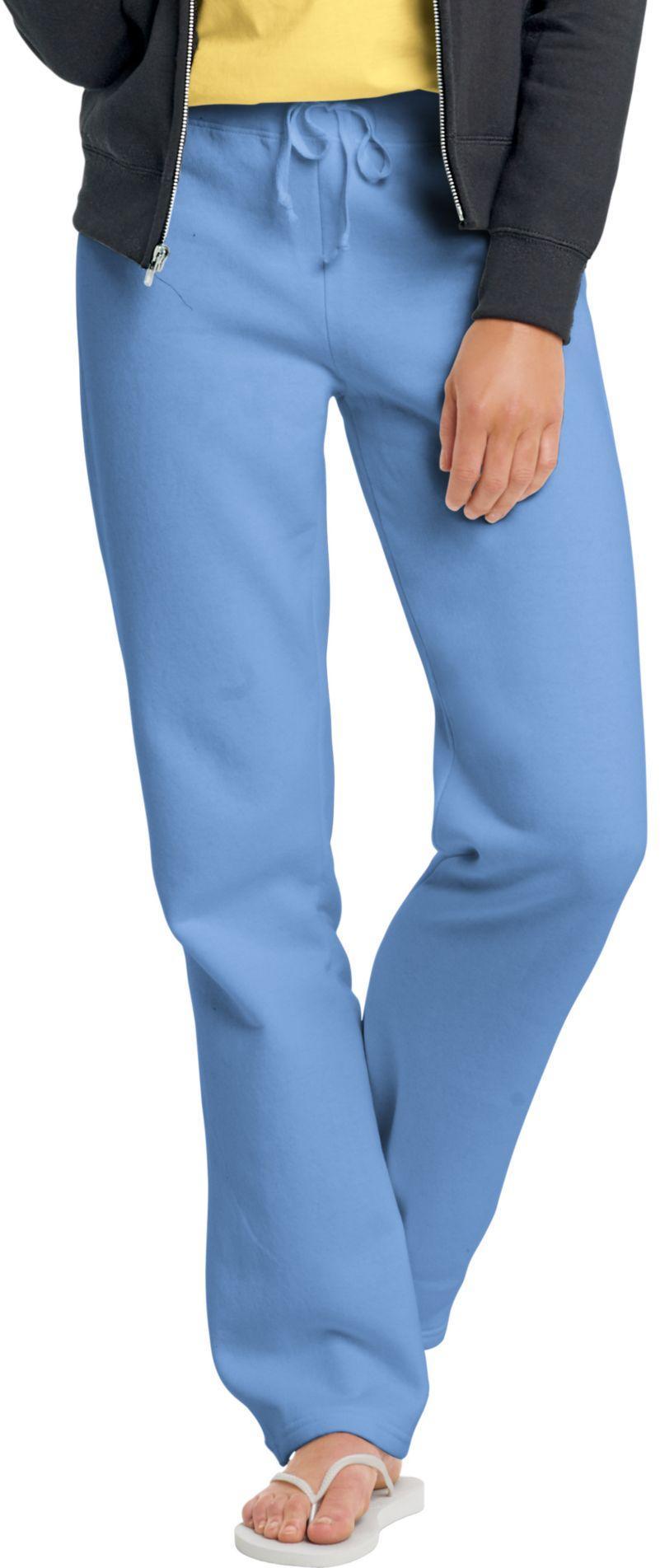 HANES EcoSmart Cotton-Rich Women's Drawstring Sweatpants ...